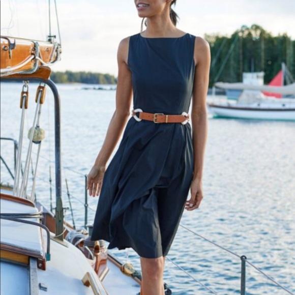 e01570a055f L.L. Bean Dresses   Skirts - L. L. Bean Signature Poplin Fit and Flare dress